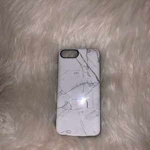 LUXYLEMON Marble Charging Phone Case
